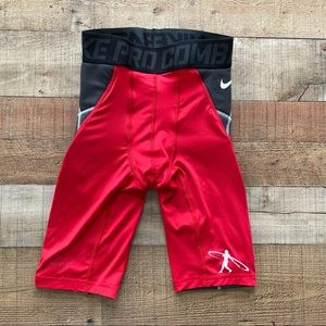 Nike Pro Combat Baseball Swingman Sliding Shorts